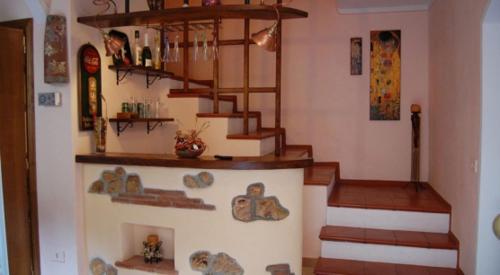 Hall ou réception de l'établissement Casa Sotto La Rocca