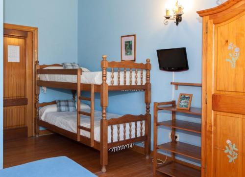 Zelai-Eder 객실 이층 침대