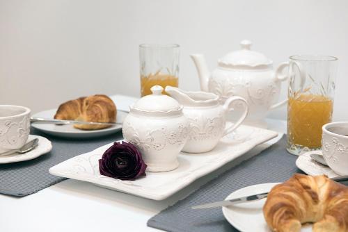 Breakfast options available to guests at Pinia Luxury Apts Myrina & Nefeli