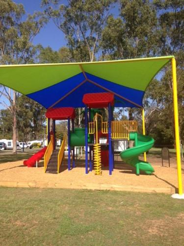 Children's play area at Freedom Lifestyle Park Warwick