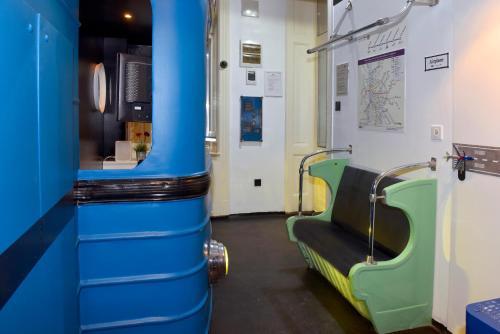 Vonios kambarys apgyvendinimo įstaigoje Walk Inn Váci 42