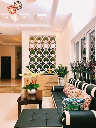 The lobby or reception area at Sunday Villa Homestay Vung Tau
