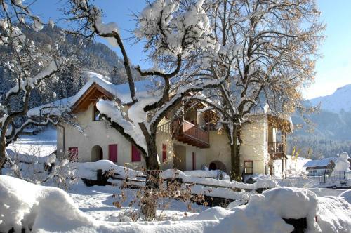 Villa Tilia during the winter