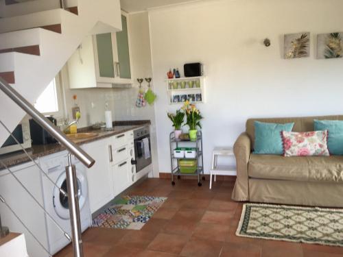 A kitchen or kitchenette at Casa Azul
