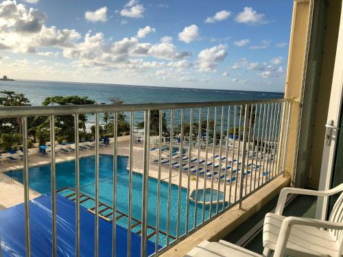 A view of the pool at ESJ Beach View & Pool View or nearby
