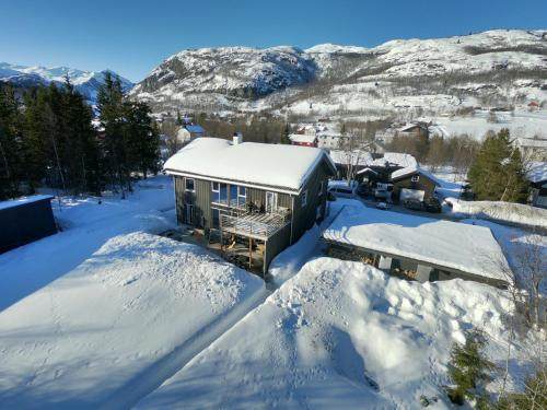 Hemsedal Mountain Apartment during the winter