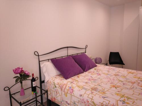 Cama o camas de una habitación en El Lagar De ElCiego