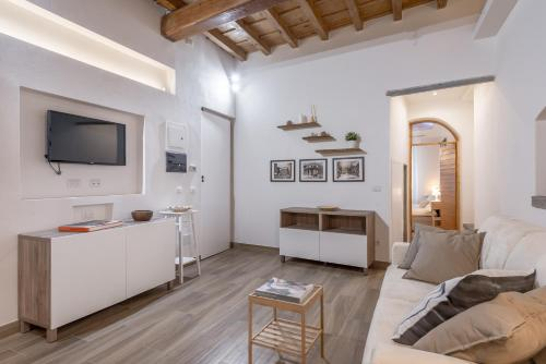 Een TV en/of entertainmentcenter bij Santa Croce Place