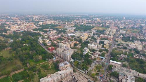 A bird's-eye view of Sri Vrindavan Dham