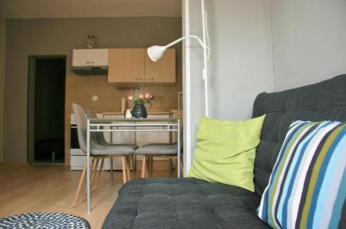 Area soggiorno di Apartma Tul