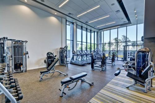 The fitness center and/or fitness facilities at Condo in Downtown PHX