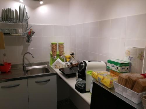 Küche/Küchenzeile in der Unterkunft Casa Le Coccole