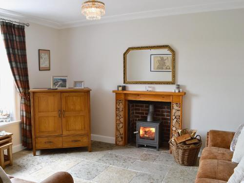 The lobby or reception area at Glenlea Cottage