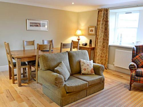 A seating area at Oak Cottage