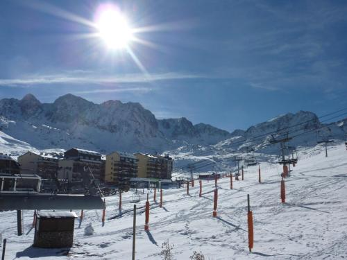 Frontera Blanca Superior during the winter