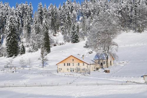 Relais de la Baume im Winter