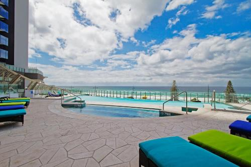 The swimming pool at or near Soul 2 & 3 Bedroom Ocean View - We Accommodate