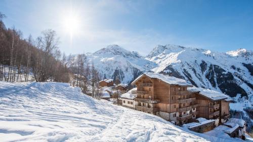 L'établissement CGH Résidences & Spas Le Ruitor en hiver