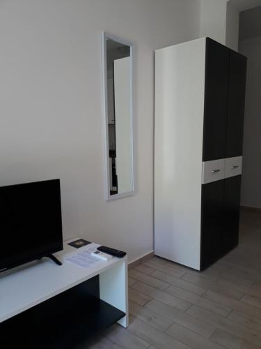 A television and/or entertainment center at Apartments Lucija