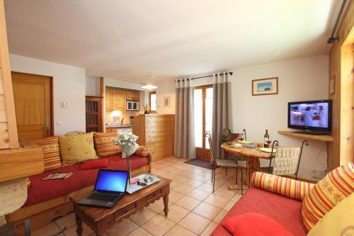 Zona d'estar a Appart'hotel Panoramic-Village