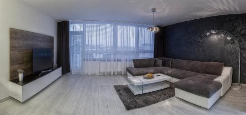 A seating area at Apartment Centrum Exclusive