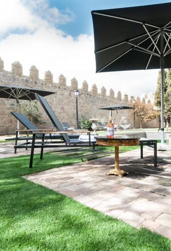 hotels with  charm in avila  3