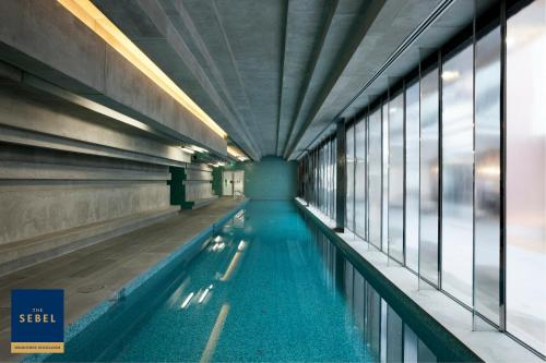 The swimming pool at or near The Sebel Melbourne Docklands