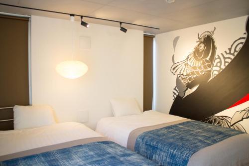 アートマンションAOCA山王2B 流水にあるベッド