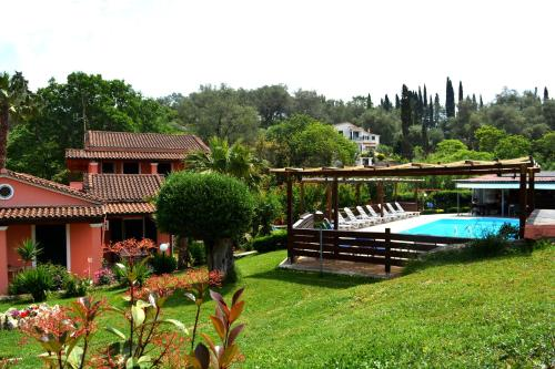 A view of the pool at Apartments Despina or nearby
