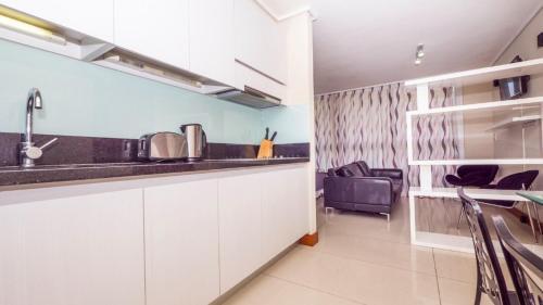 Una cocina o zona de cocina en Carmelitas Studio
