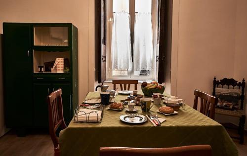 Restauracja lub miejsce do jedzenia w obiekcie B&b Sebastian