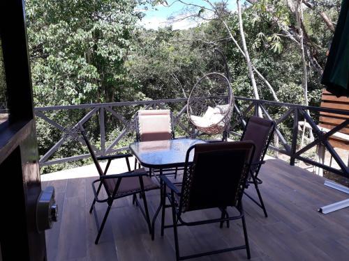 Un balcón o terraza de Chalet San Juanillo