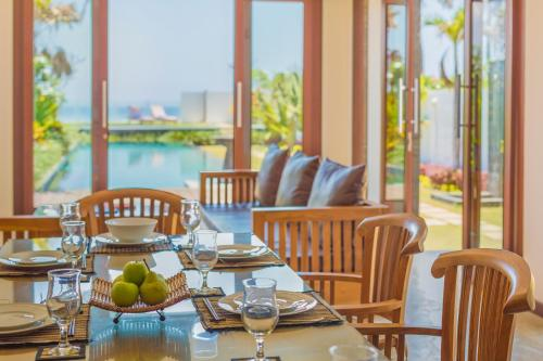 A restaurant or other place to eat at Bali Diamond Estates & Villas