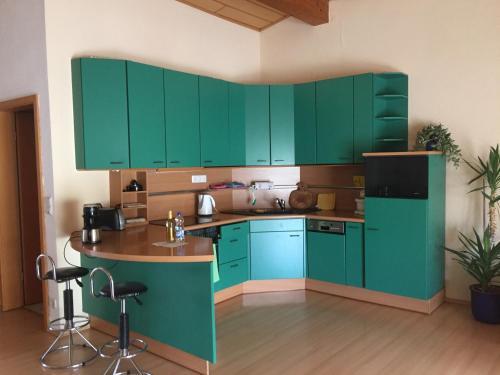 Küche/Küchenzeile in der Unterkunft Haus Lissy