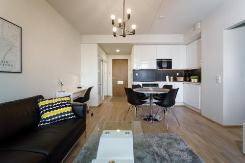 Oleskelutila majoituspaikassa JHO Premium Apartments