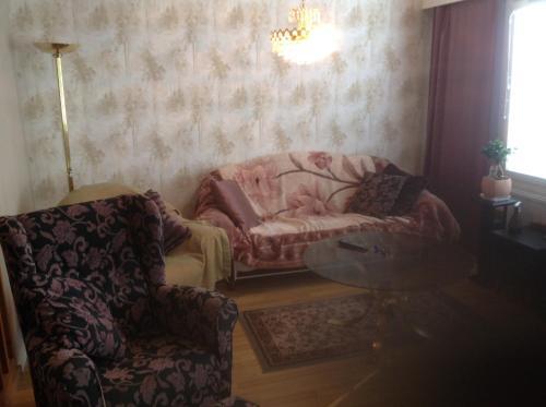 Oleskelutila majoituspaikassa Apartment Marina Home with sauna