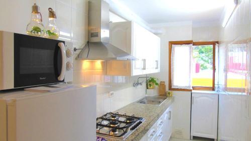 A kitchen or kitchenette at Apt. Lourdes, close to the Teresitas & Anaga