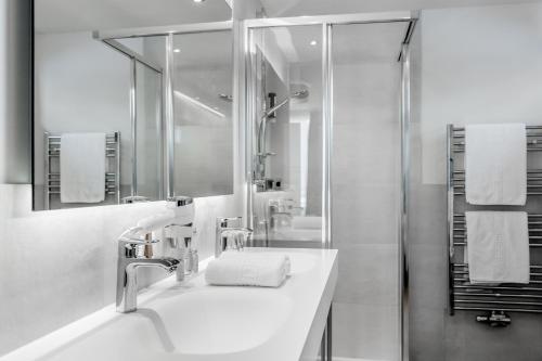 Kylpyhuone majoituspaikassa Regina's Alpenpanorama