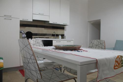 A kitchen or kitchenette at Casa Giacchino