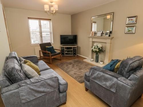 A seating area at 28 Clementhorpe, York