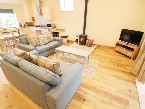A seating area at Whitewell Cottage, Preston