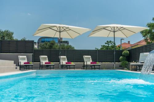 The swimming pool at or close to Villa Franica Zadar