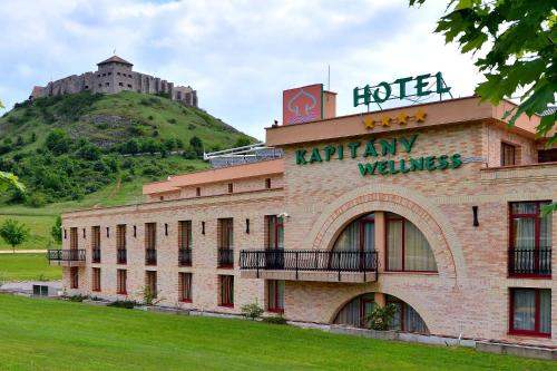 Hotel Kapitany Wellness Sümeg Hungary Booking Com