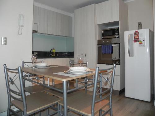 Una cocina o zona de cocina en DV Apartments Santa Lucia