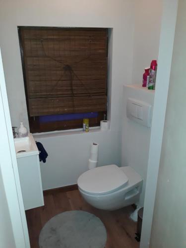A bathroom at Appart Métropole Brussels