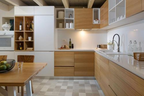 A kitchen or kitchenette at Holiday Home Bo