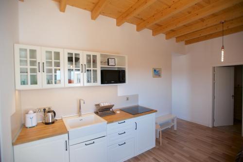 Кухня или мини-кухня в Molino de el Roque
