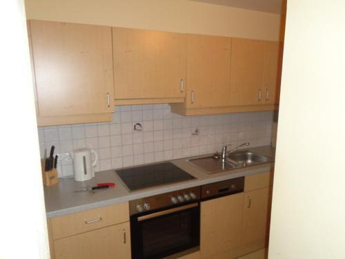 Küche/Küchenzeile in der Unterkunft Holiday-Appartements