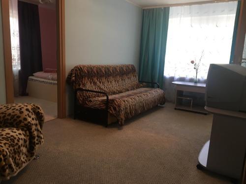 Ruang duduk di Appartamenty 2