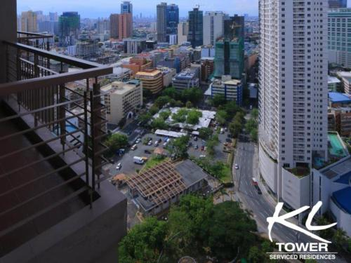 A bird's-eye view of Greenbelt Makati studio
